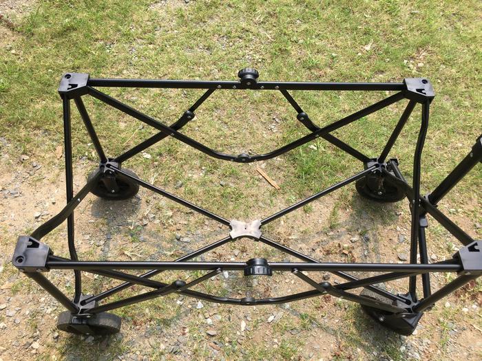 フレームの構造(真上)