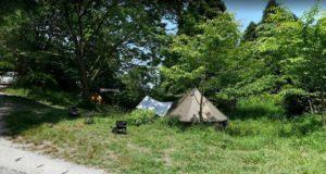 楽園キャンプ場 テントサイト