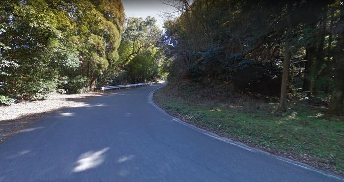 若杉楽園キャンプ場への道のり