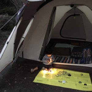 若杉楽園キャンプ場 雰囲気