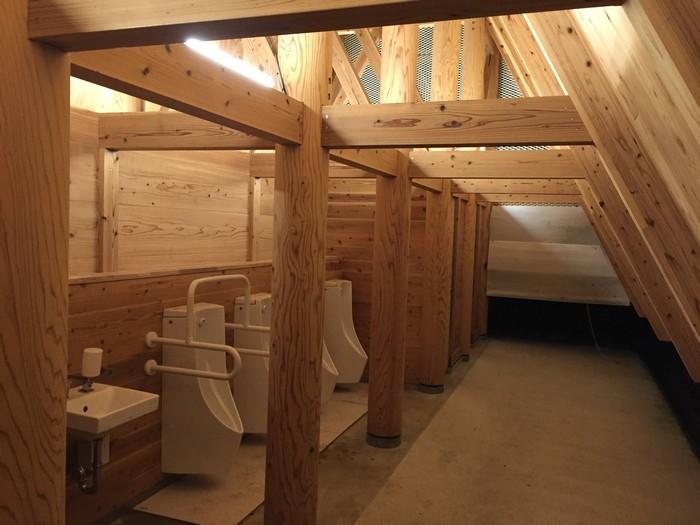 昭和の森 キャンプ トイレ夜