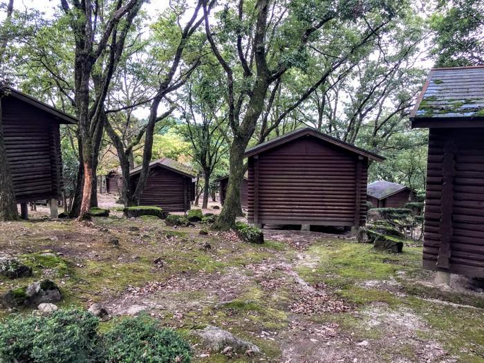 昭和の森 キャンプ コテージ周辺
