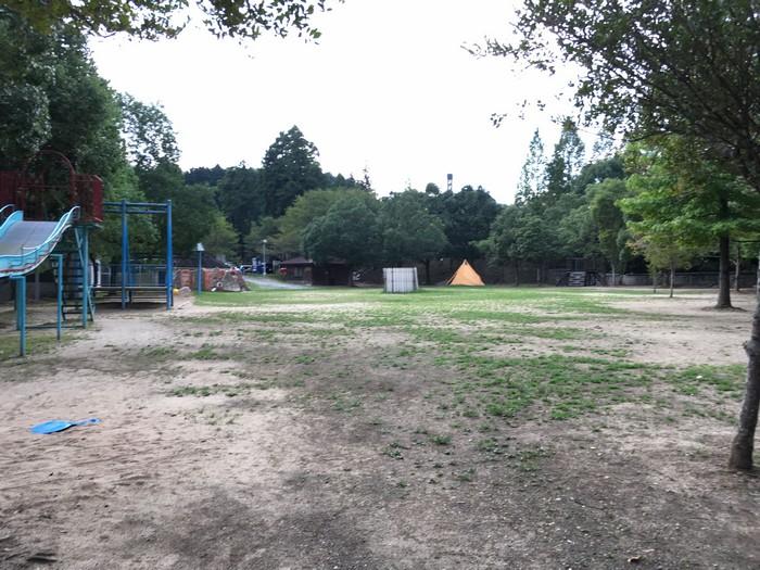 源じいの森 第一キャンプ場テントサイト