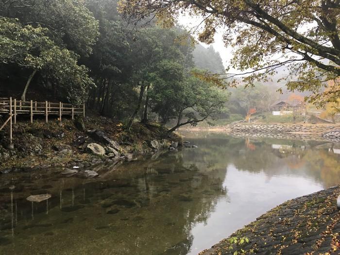 源じいの森 第二キャンプ場川