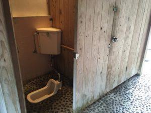 源じいの森 第二キャンプ場 トイレ