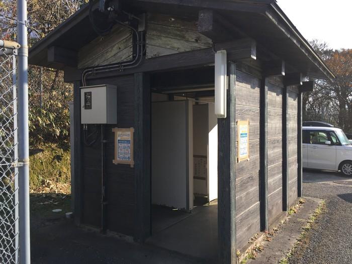 脊振山キャンプ場 トイレ
