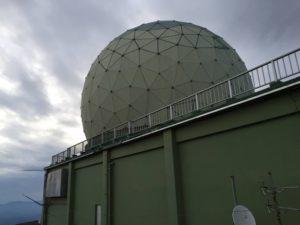 脊振山キャンプ場 レーダー