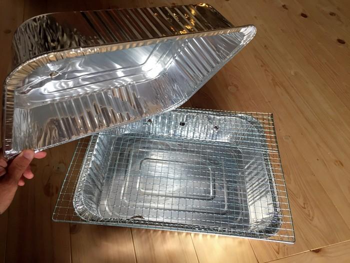 アルミプレート 手作りピザ釜