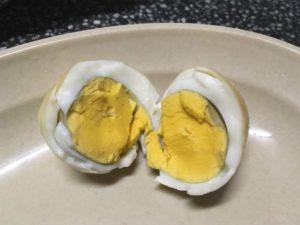 キャンプ 料理 焼き卵